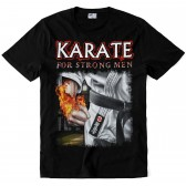 "Футболка ""Karate for strong Men"""