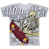 "Футболка Trasher ""Skeleton"""