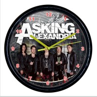 "Рок-часы ""Asking Alexandria"""